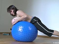 milena velba rubber ball