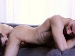 Big dick gay anal sex and cumshot