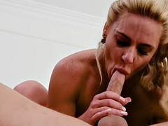 phoenix marie is a blonde with nice tits who loves riding a cock
