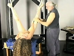 Sexy diva is fucking huge sex tool on her chair