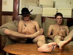 Gay porn uncut physicals Cowboy mates Ty and Lee have never