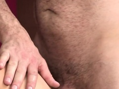 Perverted stepdad drills his tight son like a madman