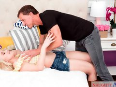 Valerie White fucking in the bed with her big ass