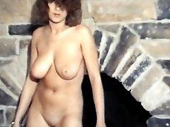 HUNG UP - vintage jiggly big boobs strip dance
