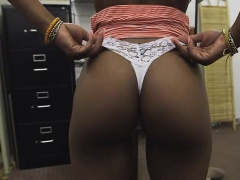 Black Amateur Girl Sucking Dick In Back Of Pawn Shop
