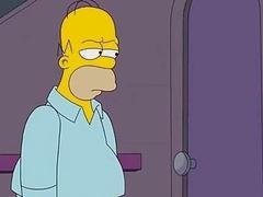 Simpsons Porn  Homer fucks Marge