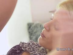 Blonde mature beauty banged hard in bedroom