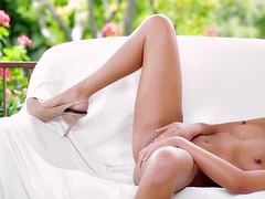 babes - bronze goddess  starring  tiffany brookes clip