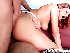 Anal beads and dick does this dirty girl