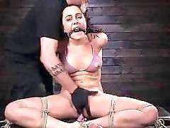 Pain loving slut begs for more from master BDSM porn