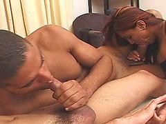 Hot black and white bisexual chaps and their so gf