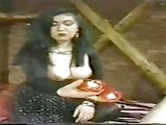 Retro Japanese slut waxed and whipped by mistress BDSM porn