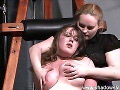 Lesbian Taylor Hearts extreme humiliation