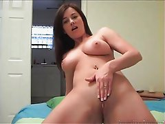 Some Smoking Hot Busty Amateur Showing Her Tits