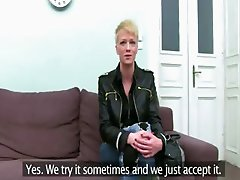 20yo charming blondie fucking on ottoman